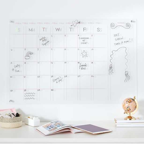 Iridescent Calendar, 36x24 - Pottery Barn Teen
