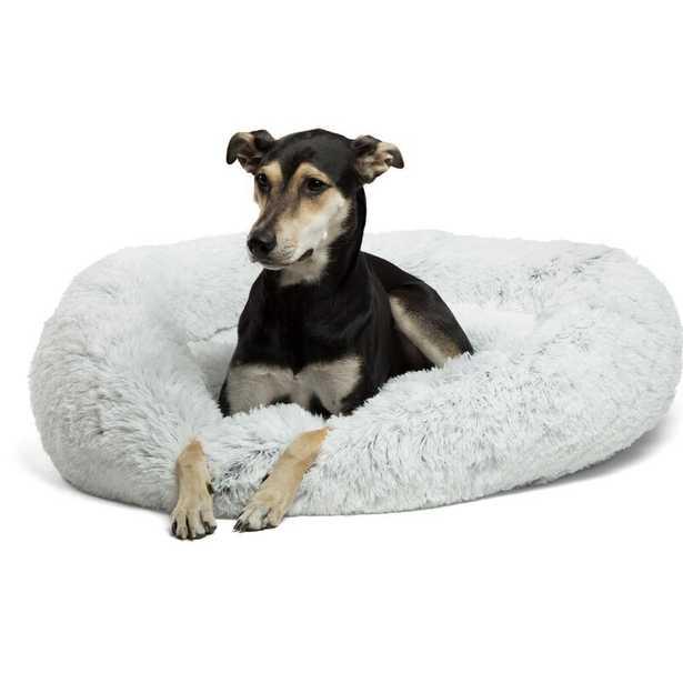 Shag Donut Round Dog Bed - Extra Large - Wayfair