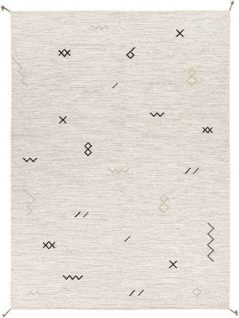 Bajada Rug, Ivory, 8' x 11' - Cove Goods