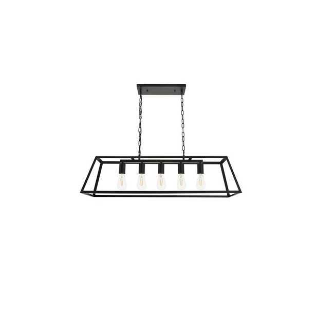 Dutchess 5 - Light Kitchen Island Linear Pendant - Wayfair