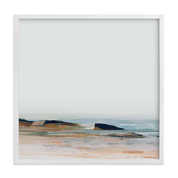 "Tarek / 24"" X 24"" /White Wood Frame /White Border - Minted"