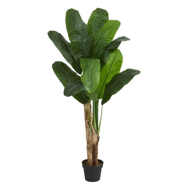 Faux Banana Tree, 4ft - Haldin