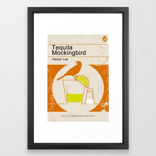 Tequila Mockingbird Framed Art Print - Society6