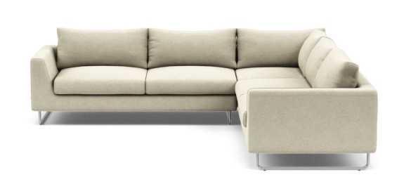 ASHER Corner Sectional Sofa - Interior Define