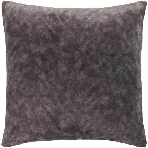 "Fine Velvet Pillow, Charcoal, 20""x20"" - Havenly Essentials"