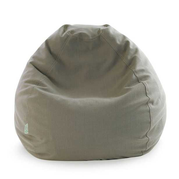 Edwards Bean Bag Chair - Large - Navy Blue - Wayfair