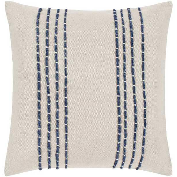 Leann Texture Cotton Striped Throw Pillow - Wayfair