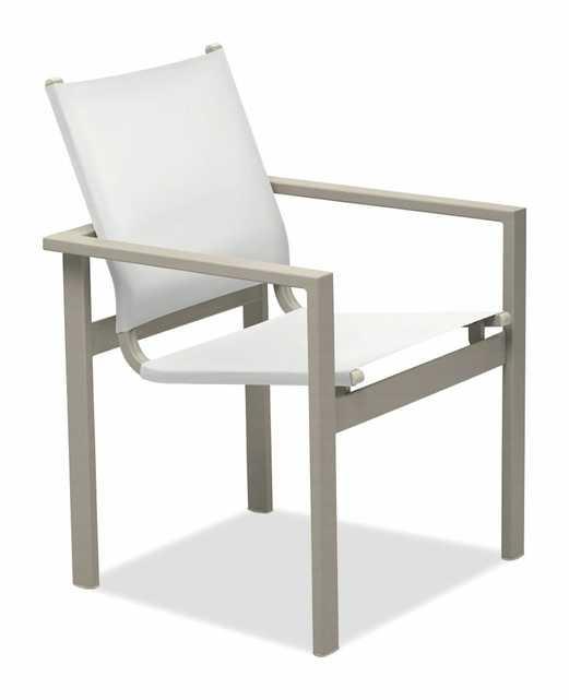 Tribeca Café Stacking Patio Dining Chair - Perigold