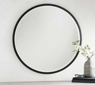"Layne Mirror, Bronze - 36"" Round - Pottery Barn"