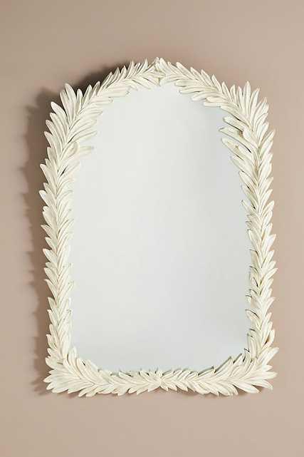 Foglia Arched Mirror - Anthropologie