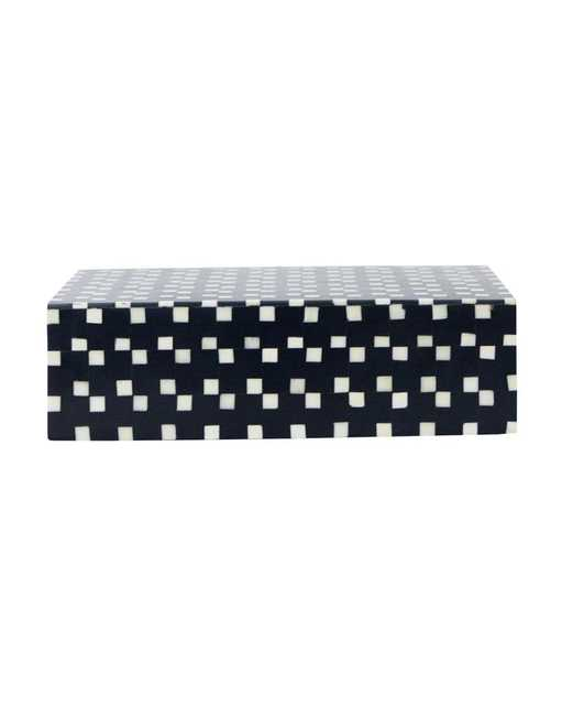 HEXAGON PATTERNED BOX - McGee & Co.