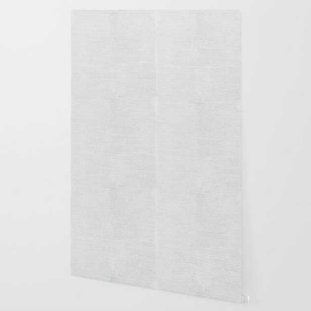 Oyster Sisal Grasscloth Peel-and-Stick Wallpaper, 2' x 4' Sample - Society6