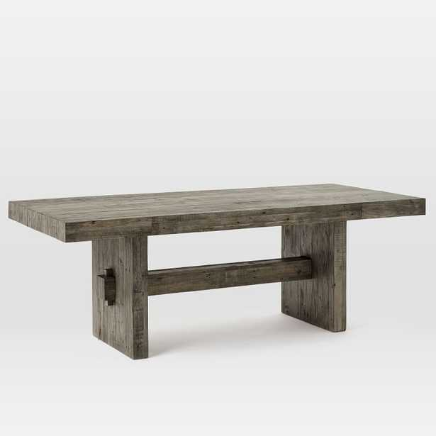 Emmerson® Reclaimed Wood Dining Table - Stone Gray - West Elm