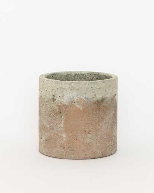 Golden Cement Pot, Large - McGee & Co.