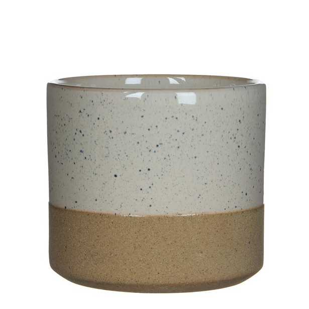 Sievers Round Ceramic Pot Planter - Wayfair
