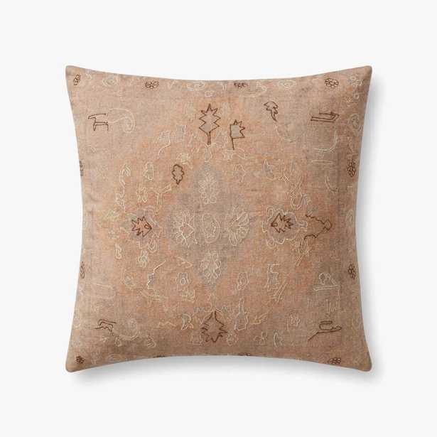 "Mila Pillow Cover, 22"" x 22"" - Roam Common"