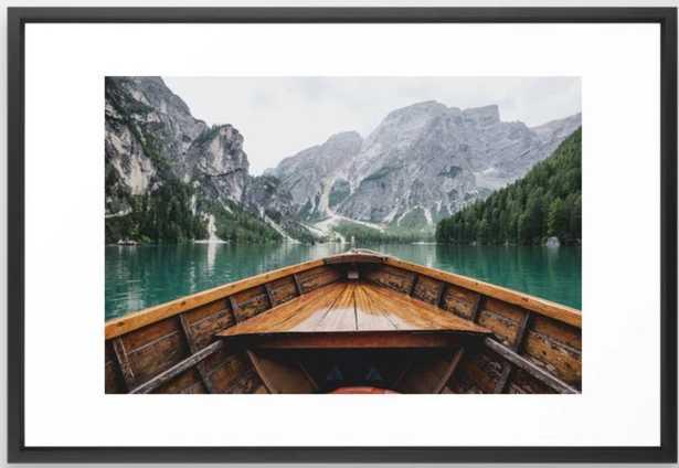Live the Adventure Framed Art Print - Society6