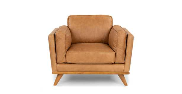 timber charme tan chair - Article