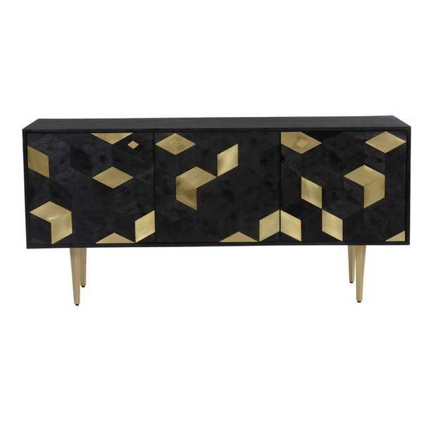 Amatia 63'' Wide Mango Solid Wood Sideboard - Wayfair