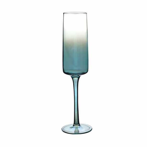 Atrium Champagne 8 oz. Glass Flute (Set of 4) - Wayfair