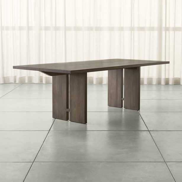 """Monarch 92"""" Shiitake Dining Table - Crate and Barrel"""