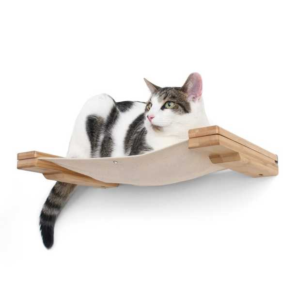 """3"""" Stagg Lounge Handcrafted Cat Perch - Wayfair"""