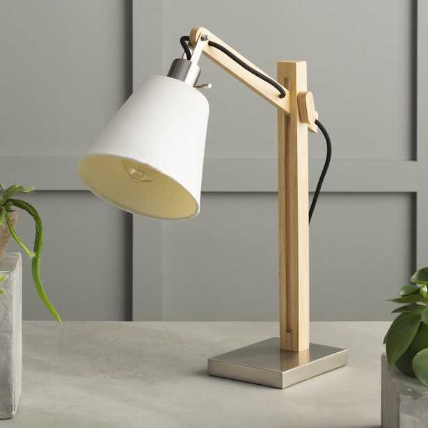 "Jaxson 25"" Natural Desk Lamp - AllModern"