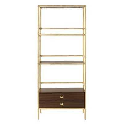 Arrighetto 4 Tier Etagere Bookcase - AllModern