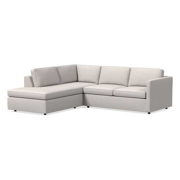 Harris 2-Piece Terminal Chaise Sectional /left 2-piece terminal chaise sectional - West Elm
