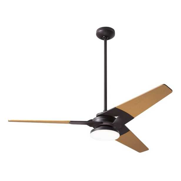 """52"""" Torsion 3 - Blade LED Standard Ceiling Fan with Light Kit Included - Perigold"""