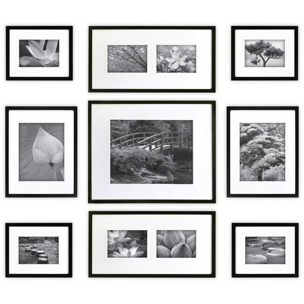 9 Piece Boulware Wood Picture Frame Set - AllModern