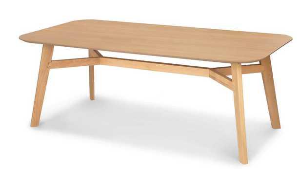 Ventu walnut  Dining Table for 6 - Article