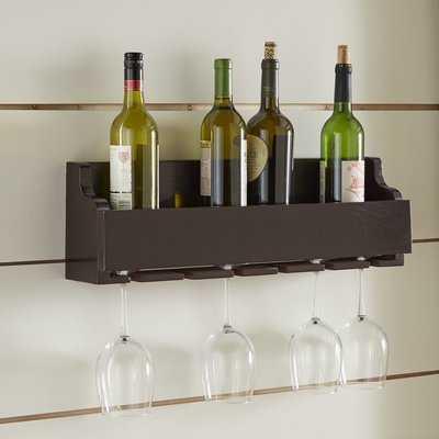 Gonzalez 6 Bottle Wall Mounted Wine Rack - Birch Lane