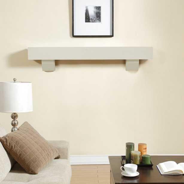Yareli Fireplace Mantel Shelf 60 - Wayfair