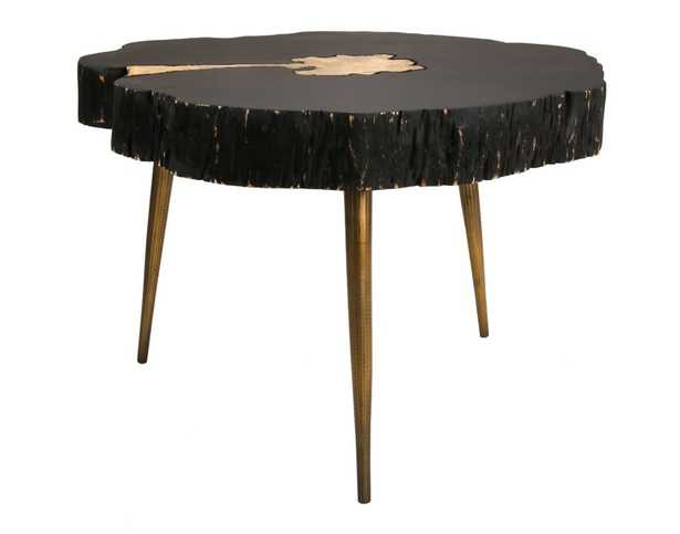 Kenzie Jane and Brass Coffee Table - Maren Home