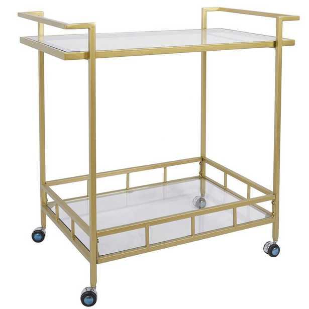 Saffold Durable Bar Cart - Wayfair