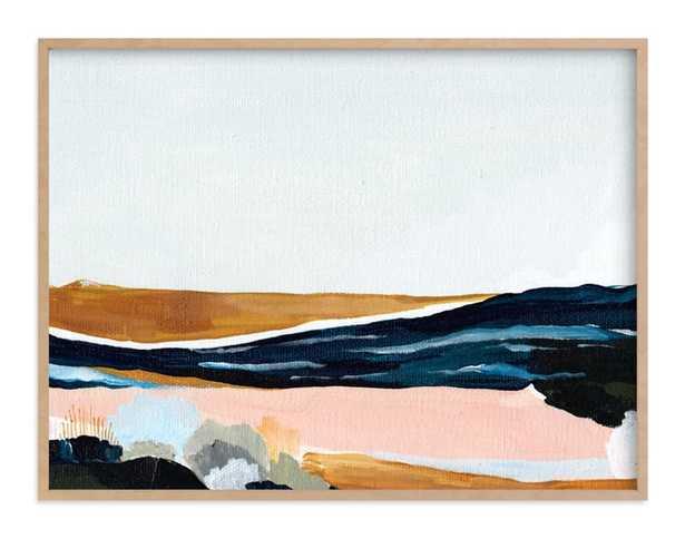 Sandspit , 40 x 30 - Minted