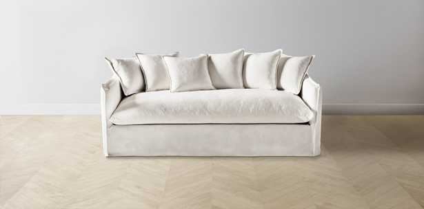 """The Dune - L Sectional - 123"""" - Creme - Maiden Home"""