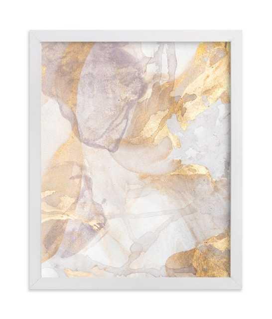 Soft Shimmer No. 2 Art Print - 8 x 10 - White Wood Frame - Minted