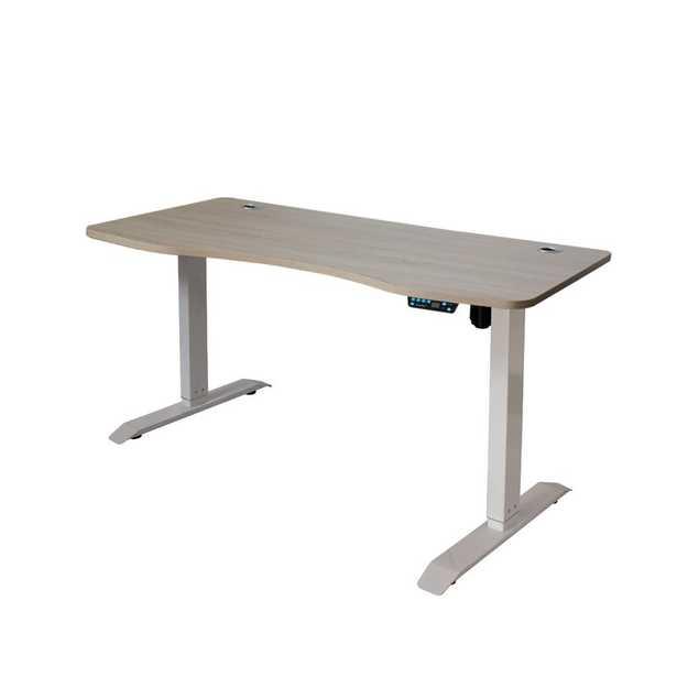 Lesure Electric Height Adjustable Desk - Wayfair