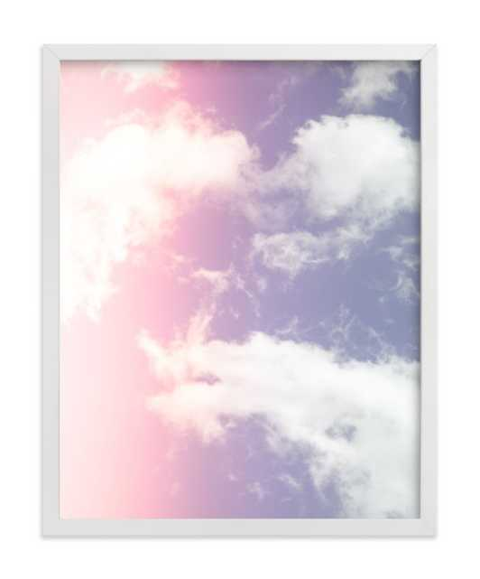 Cotton Candy Clouds, 11 x 14 - Minted