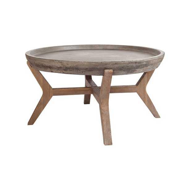 Federalsburg Coffee Table with Tray Top - Wayfair