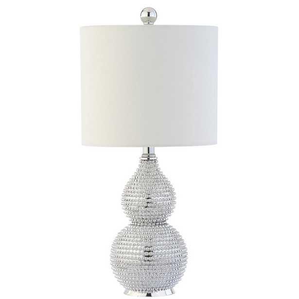 """Shenna Chrome 20"""" Table Lamp - Wayfair"""