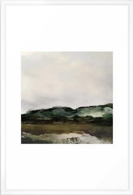 Verte 1 Framed Art Print - Society6