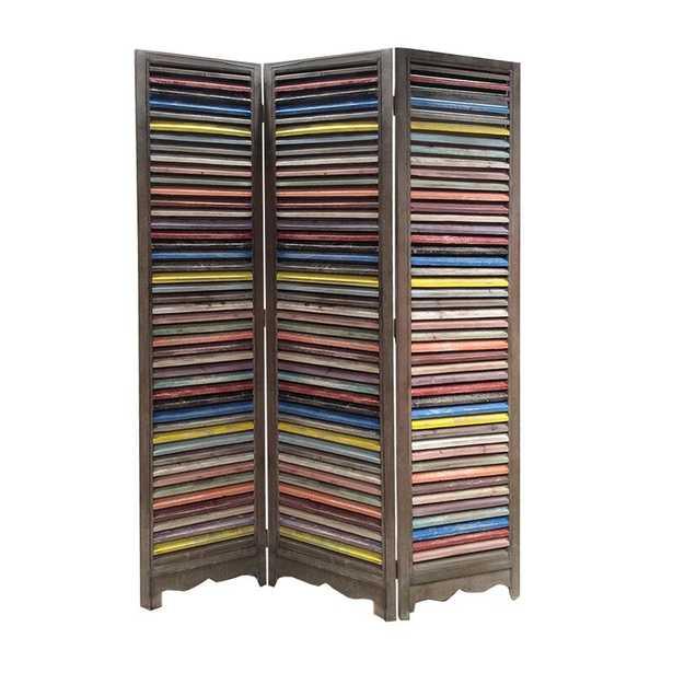 Shutter 3 Panel Room Divider - Wayfair