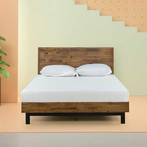 Gabriel Platform Bed - queen - Wayfair