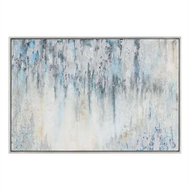'Overcast' Graphic Art Print on Canvas - Hudsonhill Foundry
