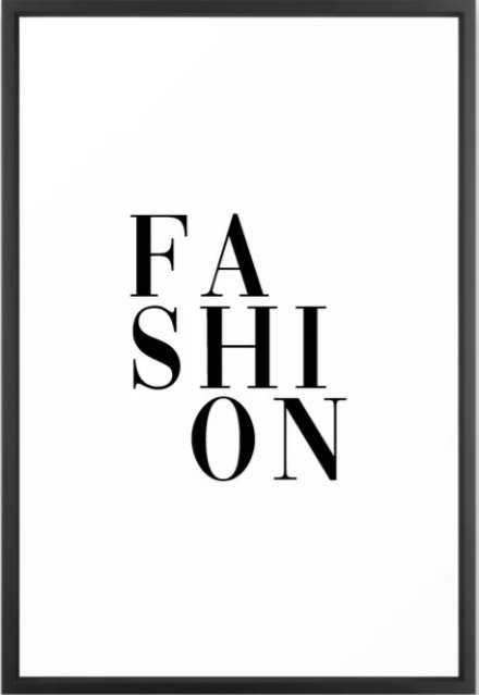 fashion Framed Art Print - Society6