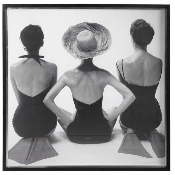 LADIES' SWIMWEAR, 1959 FRAMED PRINT back in stock early aug 2021 - Hudsonhill Foundry