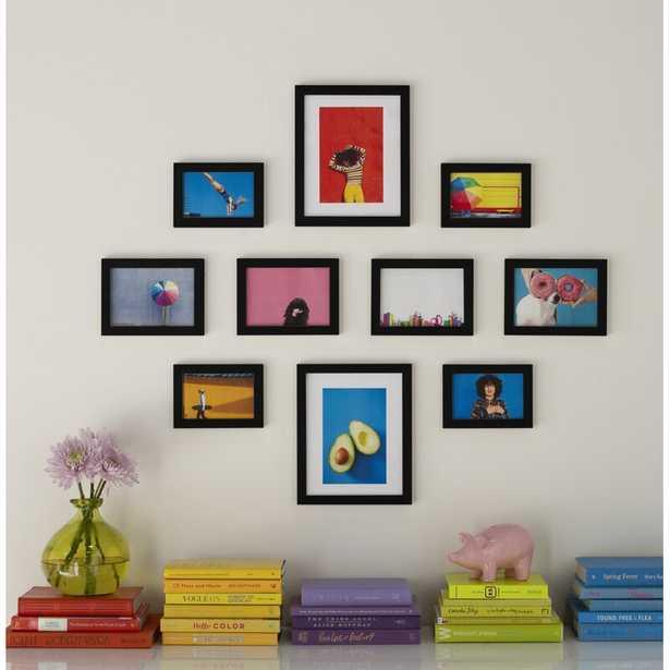 10 Piece Offerman Gallery Essential Picture Frame Set - Wayfair